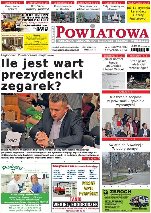 Prezydent Legionowa Roman Smogorzewski wziął przykład z byłego ministra Sławomira Nowaka. podobnie jak Nowak Smogorzewski pominął w swym oświadczeniu majątkowym zegarki.