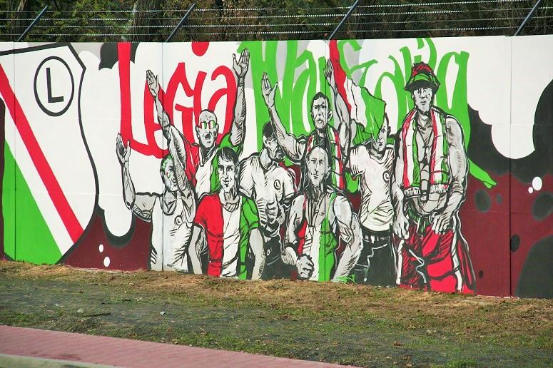 Legionowo rekordowy mural oficjalnie ods oni ty galeria for Mural legionowo